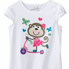 2016 factory price fancy design summer O-neck newborn baby t shirt with printing