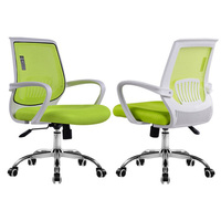 Foshan modern mesh office chair with adjustable armrest