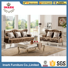 Pictures of Wooden Arab Sofa Designs 7 Pieces 1+2+3 with Coffee Table on Sale