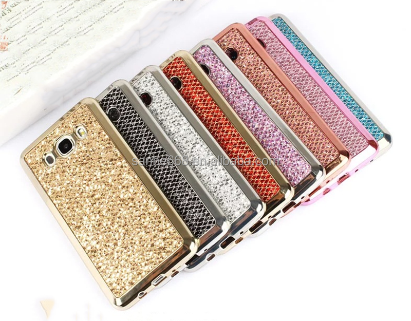 new delivery gold tpu cheap mobile phone cases soft shimmering back cover for samsung s4 s5 s6 s7 for iphone