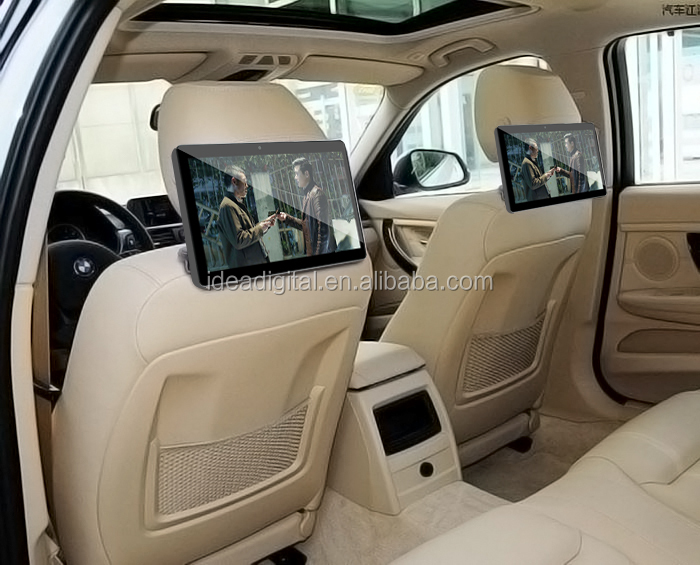 9 taxi video advertising player 4g phone call android 6.0 tablet pc 10.1 inch