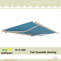 SF-R-7000made in china best selling motor control LED lighting fabric awning