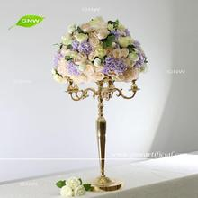GNW Good looking purple color roses flowers table centerpieces
