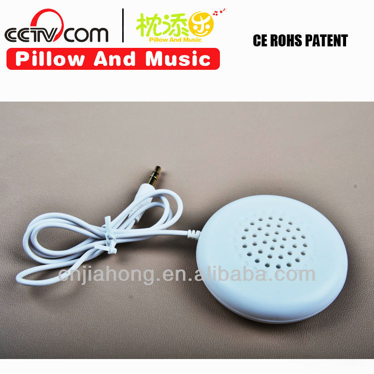 Hottest Products on the Market! Plush toys speaker/ pillow Earphone compatible to ipad mp3 mp4 playerCE SGS ROHS PATENT