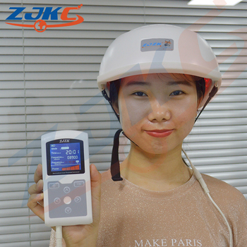 User Friendly Red Laser Cold Laser Helmet Cure For Infectious Alopecia
