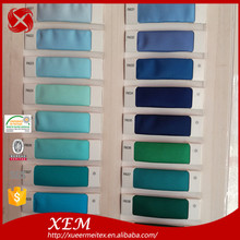 Wholesale Polyester Stretch Full Dull Satin Fabric Color Chart Stock a Lot