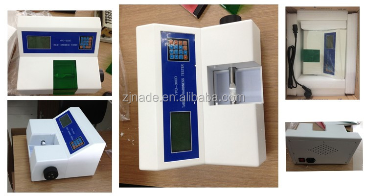 Nade Lab Physical Measuring Instruments hardness testing machine Tablet Hardness Tester YPD-300D