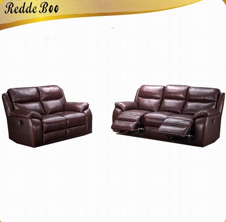 Home Furniture Royal Half Genuine Leather Recliner Sofa,Recliner Single  Fabric Sofa - Buy Genuine Leather Recliner Sofa Sets,Half Leather Recliner  ...