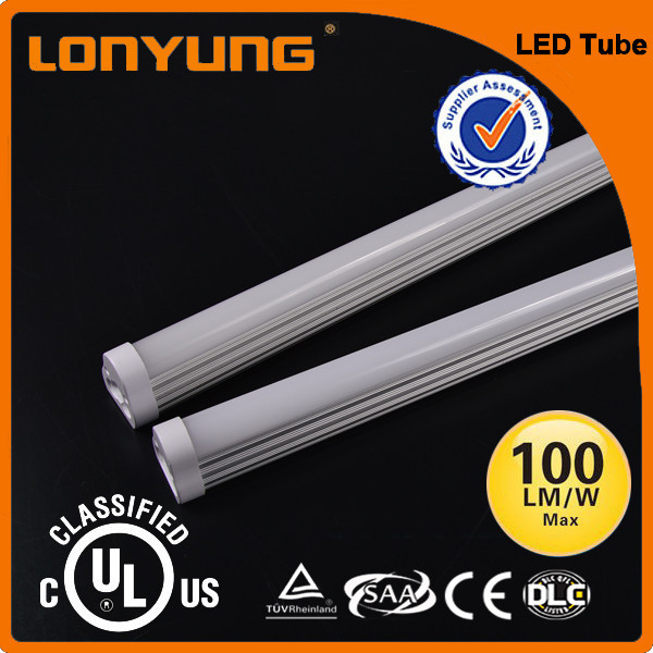 High Efficiency NEW Design/ Emergency LED Light T8 LED Tube With Battery Backup 4tube t5 fixture