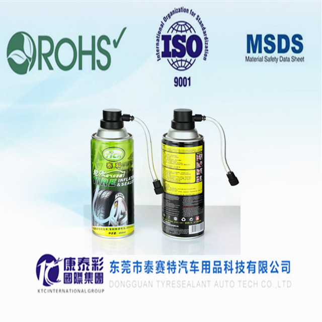 Wholesale 450ml Aerosel Car Tire Sealant