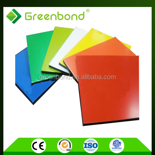Greenbond design acp sheet with good price for furniture decoration covering