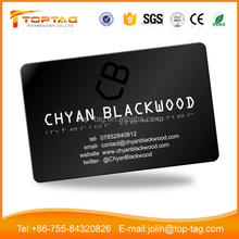 Dual Chips NFC IC Smart Card, Rewritable Chip UL C 50PF 13.56MHz Business RFID Card