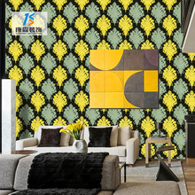 Modern design bedroom ceiling self adhesive pvc vinyl home decoration 3d wallpaper for home