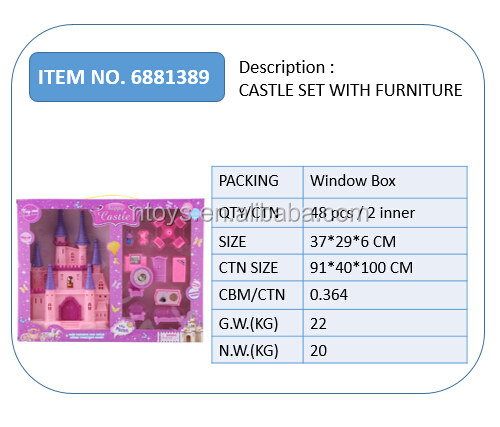 Luxury designed furniture in the castle