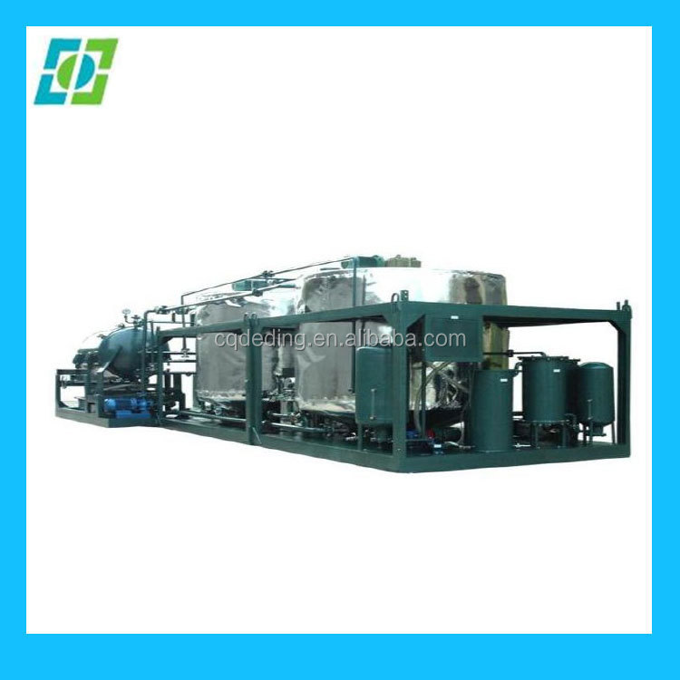 Used Motor Oil Cleaning Machine/Hydraulic Oil Cleaning Machine