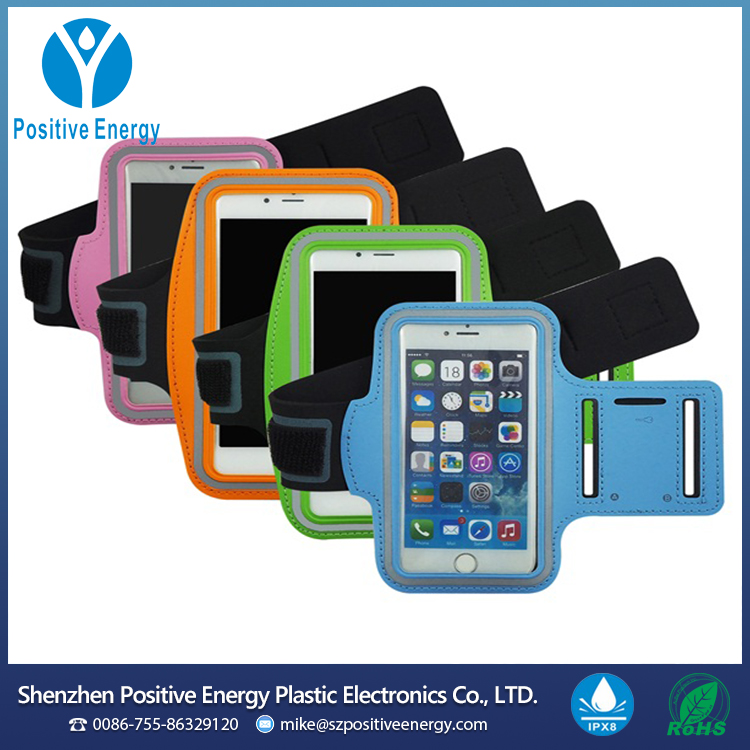 China Factory Adjustable Neoprene Sport Running Armband Cellphone