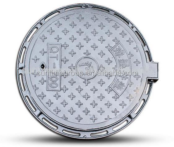 2016 customed Ductile/Ductil Iron Manhole Cover Cheap Price Foundry Direct for sale