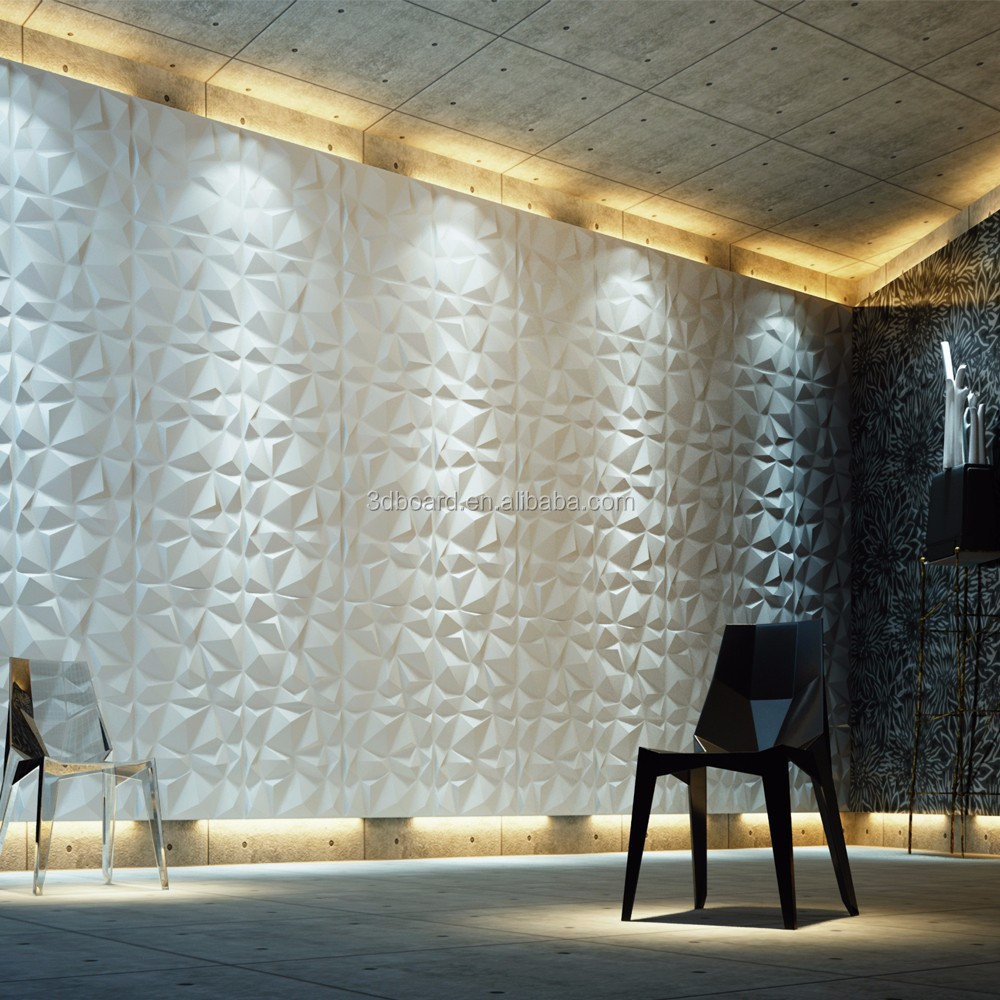 Plant fiber 3D Decorative water proof Wall paper white brick 3d wallpapers