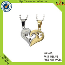 High quality couple metal pendants Wholesale