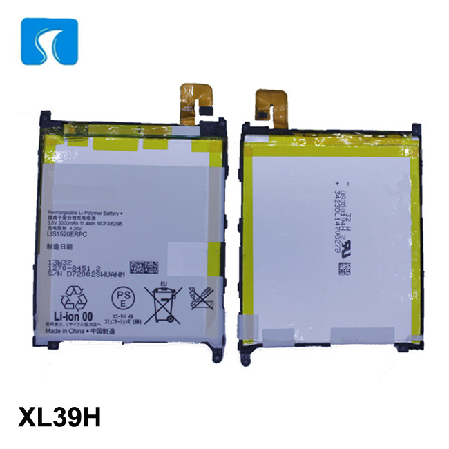 Yes rechargeable 3.8V 3000mAh battery Z Ultra for Xperia Z1s C6802 LIS1520ERPC