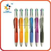 Cute plastic 10 color ball pen/ multicolor ballpoint pen/promotional 10 in 1 multicolor pen for students