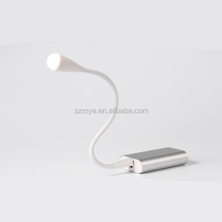 Led portable single USB cable port connect computer pc dimmable reading light