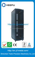 19 inch standard network cabinet rack with high quality cold rolled steel
