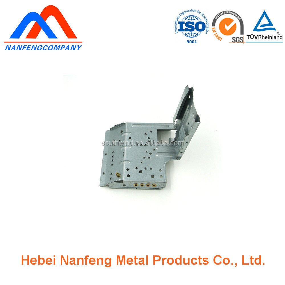 Air condition electrical box support sheetmetal