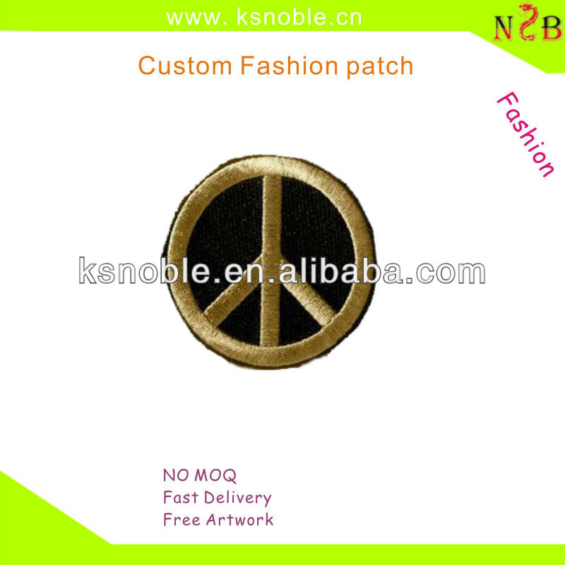 Custom hot sales car logo brand embroidery patch