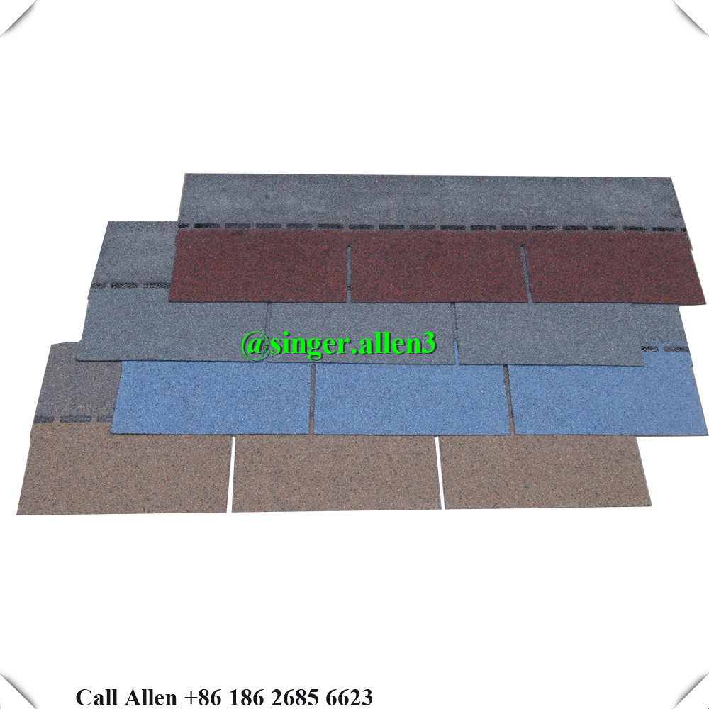 Philippines pupular asphalt roof tile shingle price
