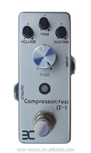 2014 Best Selling Compressor / Fuzz Guitar Effects Pedal
