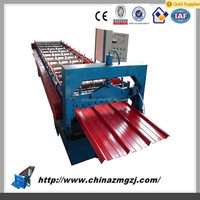 High value High Quality metal deck roll forming machine glazed tile corrugated wall tile machine