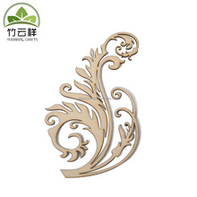 Wood laser cut craft product wood decorations