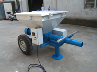 conveying and handling bagged cement or powder pump