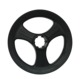 Classical customer design durable black wheel steering