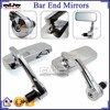 BJ-RM400-06 Scooter CNC Aluminum Bar End Mirror for Harley