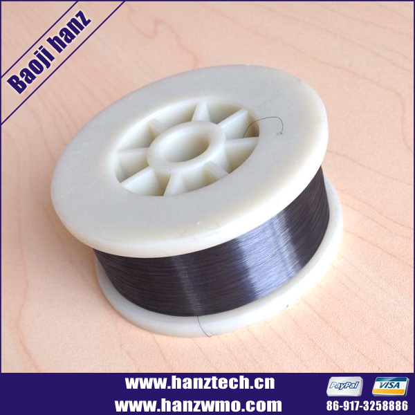 99.95% tungsten wire coil for winding machine
