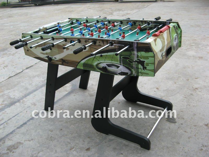 "EN71 48"" flexible and folding soccer table with full accessories kbl-780"