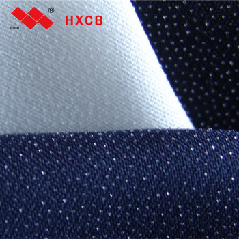 (3412)100% Polyester PA Coated Fusible Woven Interlining Fabric for Garment(30D)