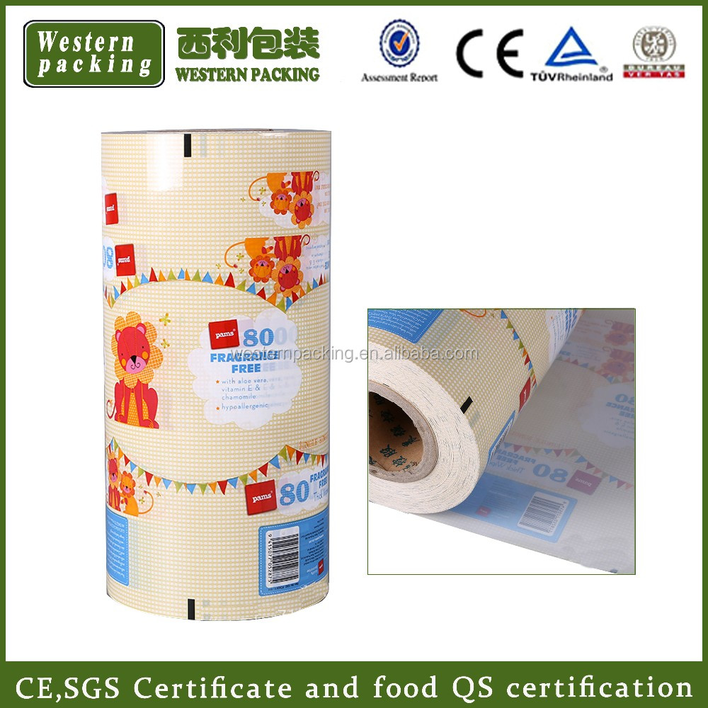Guangzhou supply packaging film in <strong>roll</strong>, brown sugar packaging film <strong>roll</strong>, bopp packaging film <strong>roll</strong>