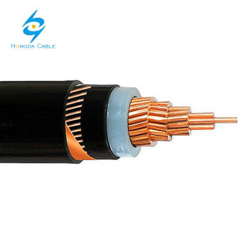 8.7/15kV CU/XLPE/CWS/PVC Power Cable