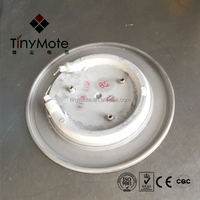 custom made hot plate parts of casting aluminum heating tube
