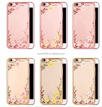 My Secret Garden crystal rhinestone frame flowers wholesale original cell phone cover case for huawei p9 for honor for iphone