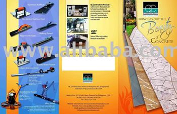QC Construction Products Phils 2009 Brochures with hand tools and Machines for Flatfloors
