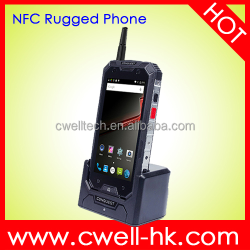 Waterproof Shockproof Smartphone 4G LTE Android Phone 5.1 Original CONQUEST S8 NFC PTT Rugged Phone
