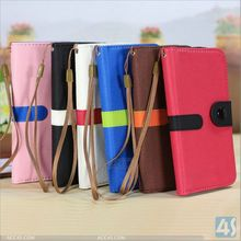 For samsung galaxy s4 i9500 newest handbag leather phone wallet PU case mobile phone accessory
