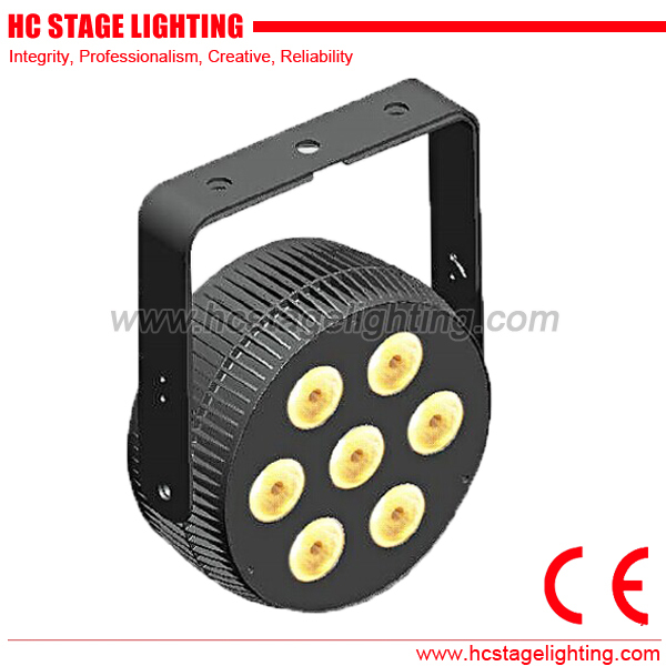 new arrival 2015 7*4in1/5in1/6in1 die-cast aluminium flat led par can
