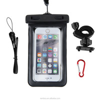 Universal Bike Mount Mobile Phone IPX8 Waterproof Case for iPhone for Samsung S5 S6 S6 Edge