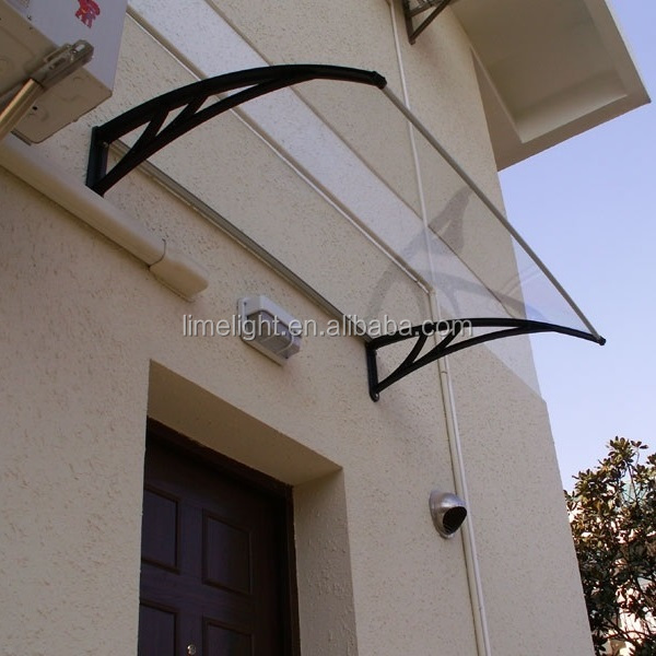 polycarbonate awning door canopy DIY awning outdoor canopy