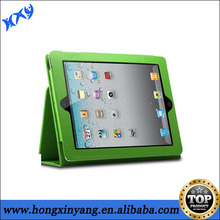 2014 new fashionable book leather case for ipad Air.